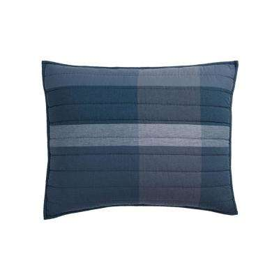 Midnight Blue Standard Sham