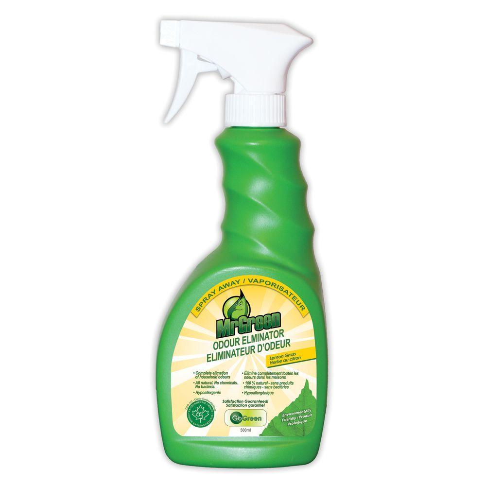 MrGreen 17 oz. Spray Away Lemon Grass Odor Eliminator