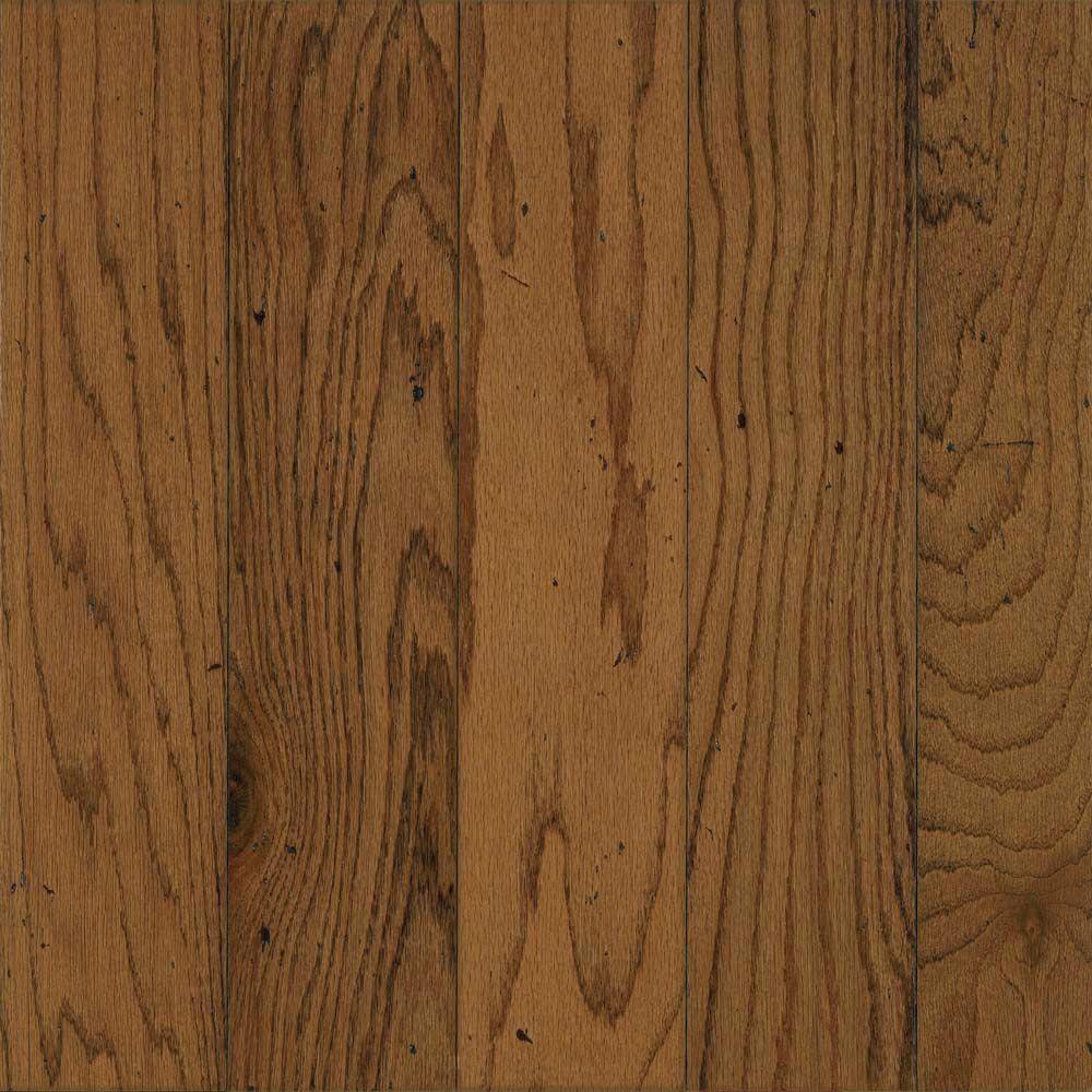 Bruce Ponderosa Oak 3/8 in. Thick x 5 in. Wide x Random Length Click Hardwood Flooring (22 sq. ft. / case)