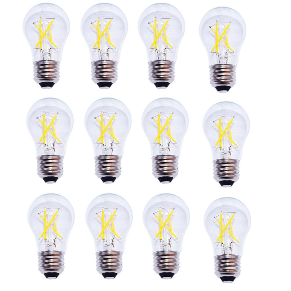 40-Watt Equivalent A15 Dimmable Energy Star Clear Filament Vintage Style LED