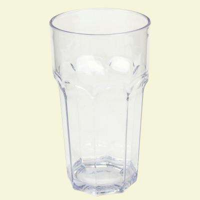 32 oz. SAN Plastic Clear Tumbler (Case of 24)