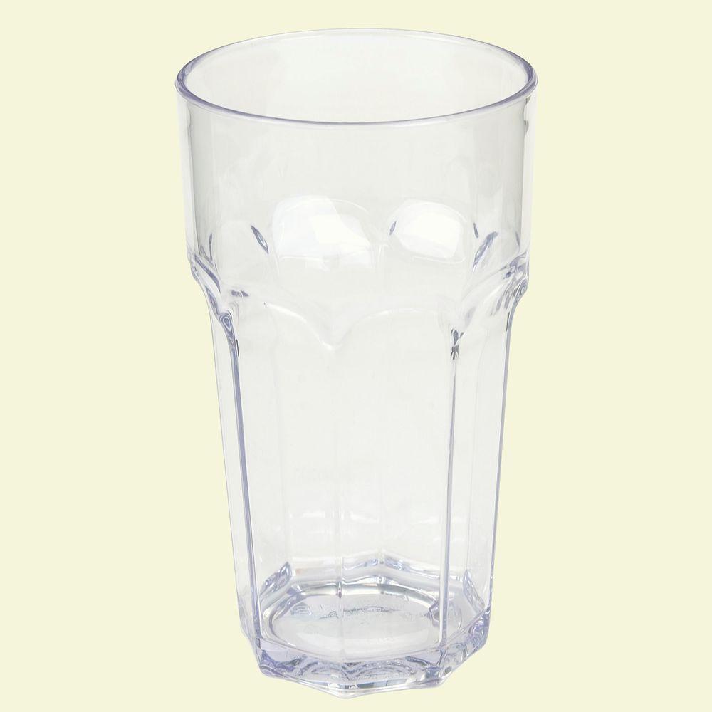 32 oz. SAN Plastic Clear Tumbler (Case of 24)