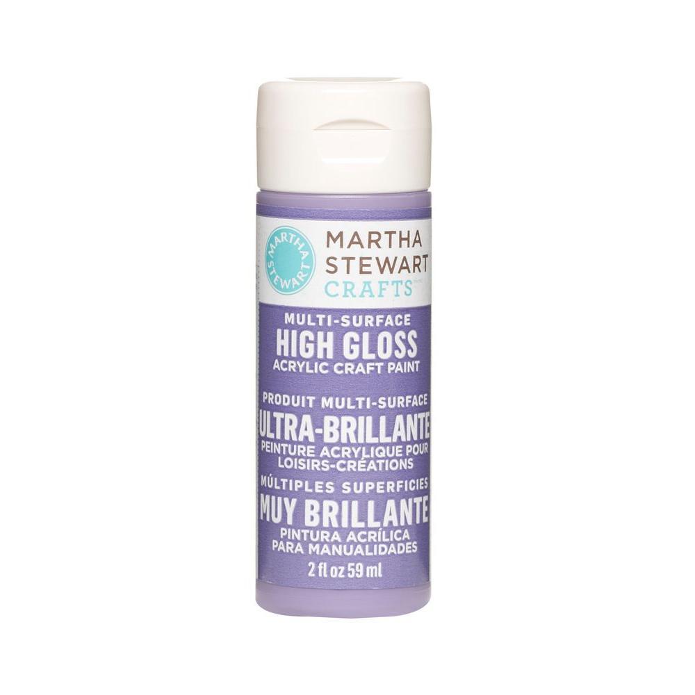 Martha Stewart Crafts 2-oz. Purple Yam Multi-Surface High Gloss Acrylic Craft Paint