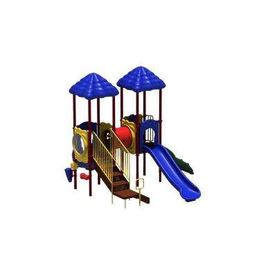 UPlay Today Signal Springs Playful Commercial Playground Playset