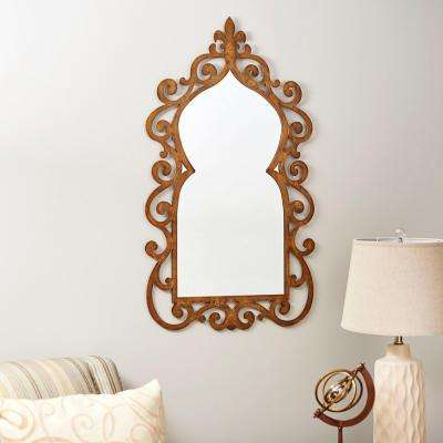 Scrolled Wall Mirror