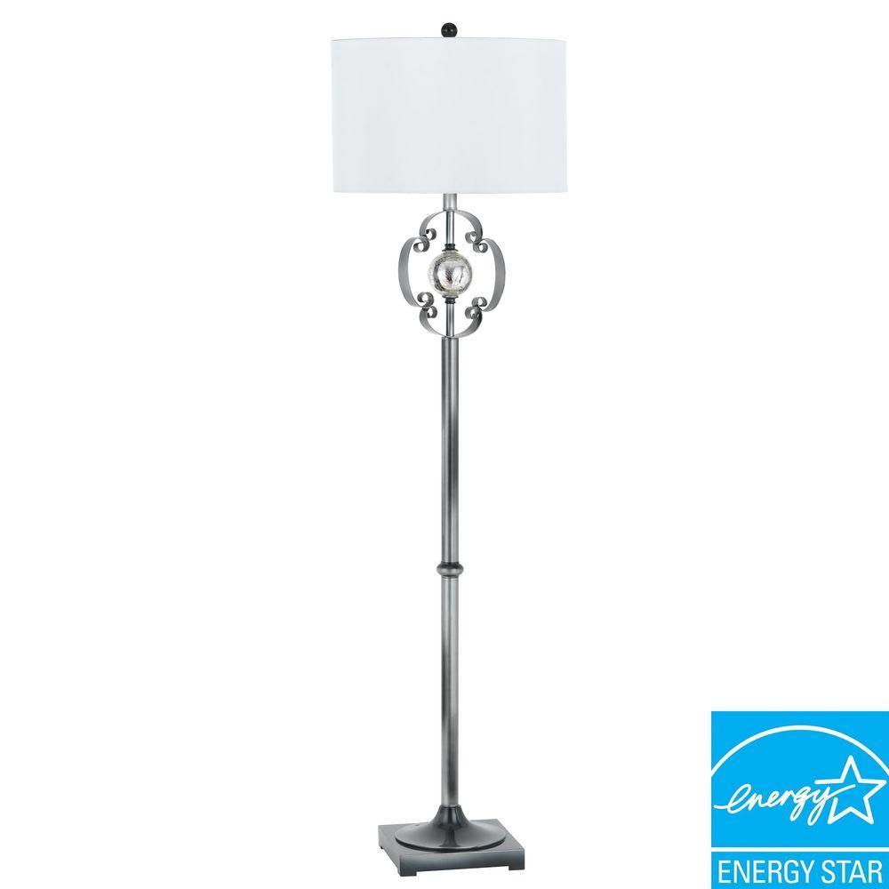 CAL Lighting 60 in. Sondrio Metal and Iron Floor Lamp