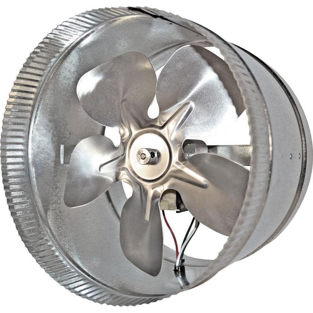 Suncourt Two Speed Professional 10 in. In-Line Duct Fan