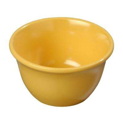 7.6 oz., 3.94 in. Diameter Melamine Bouillon Cup in Honey Yellow (Case of 48)