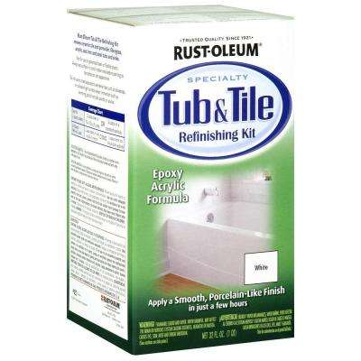 1 qt. White Tub and Tile Refinishing Kit