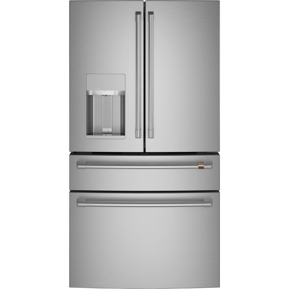 27.8 cu. ft. Smart 4-Door French Door Refrigerator in Stainless Steel, ENERGY STAR