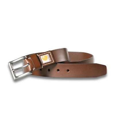 Men's Size 42 Brown Leather Legacy Belt