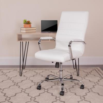 Miraculous White Office Chairs Home Office Furniture The Home Depot Home Remodeling Inspirations Cosmcuboardxyz