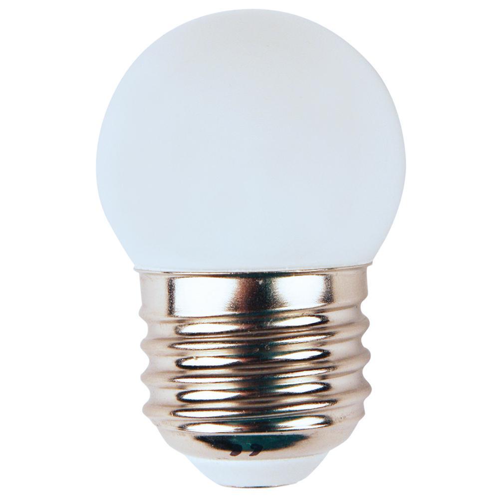 Meridian 10 Watt Equivalent Soft White S11 Non Dimmable Led Light Bulb