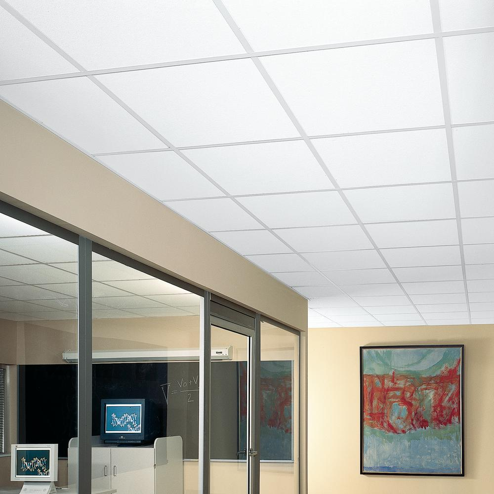 Armstrong Ceilings Yuma White 2 Ft X