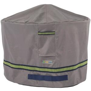 Soteria 50 in. Grey Round Fire Pit Cover