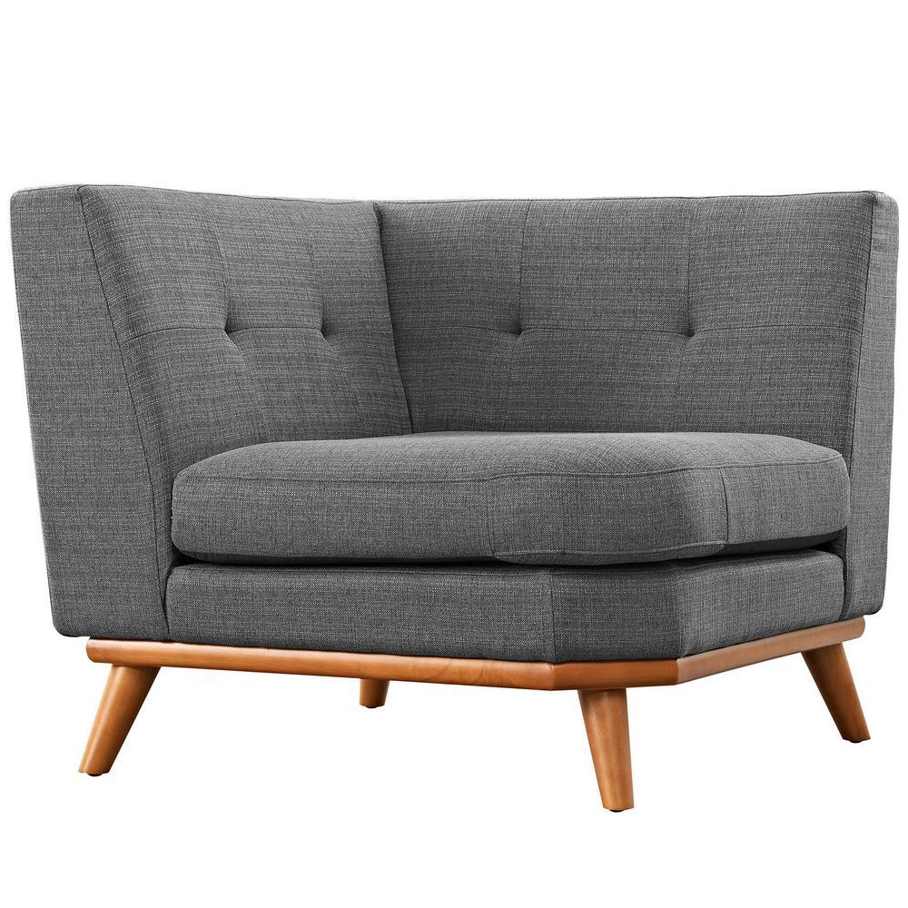 Engage Gray Corner Sofa