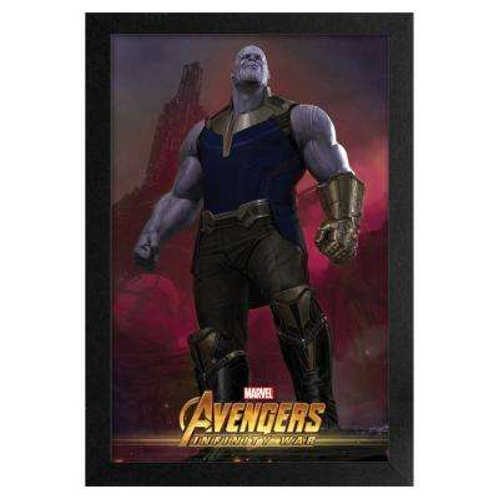 Avengers -Infinity War- Thanos 2 11x17 Framed Print