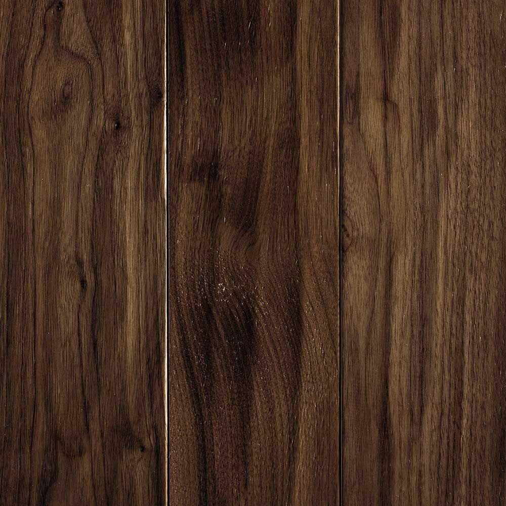 Mohawk carvers creek natural walnut 1 2 in thick x 5 in for Hardwood floors 600 sq ft