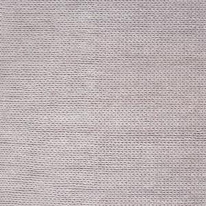 Caryatid Chunky Woolen Cable Light Gray 5 ft. Square Rug
