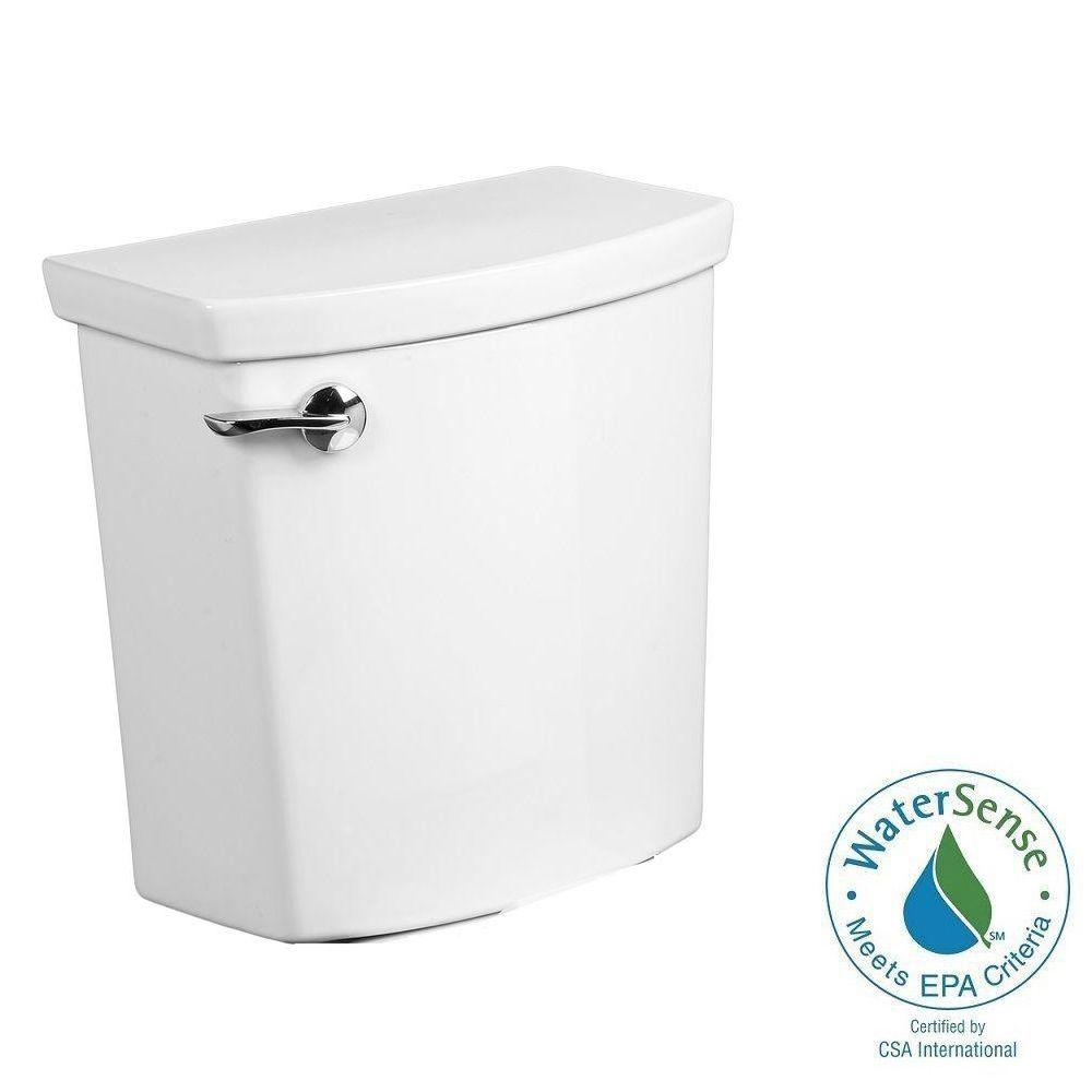 H2Optimum 1.1 GPF Single Flush Toilet Tank Only in White