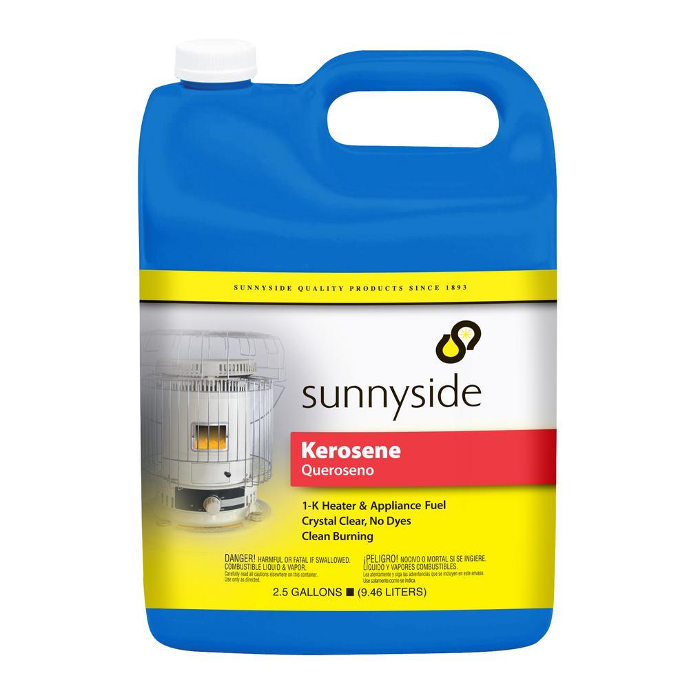 Sunnyside 2.5 Gal. Kerosene for Kerosene Burning Heaters, Lamps and Stoves