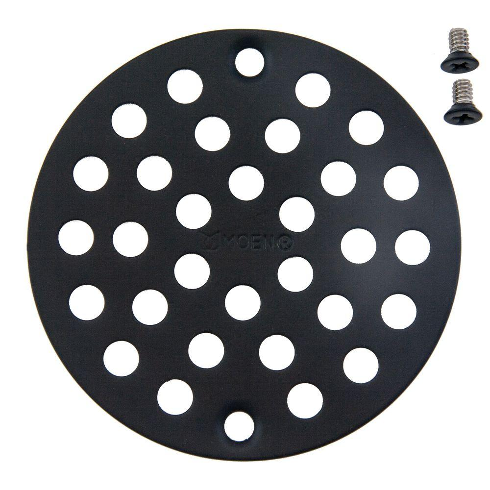 MOEN Wrought Iron Tub/Shower Drain Covers in Wrought Iron