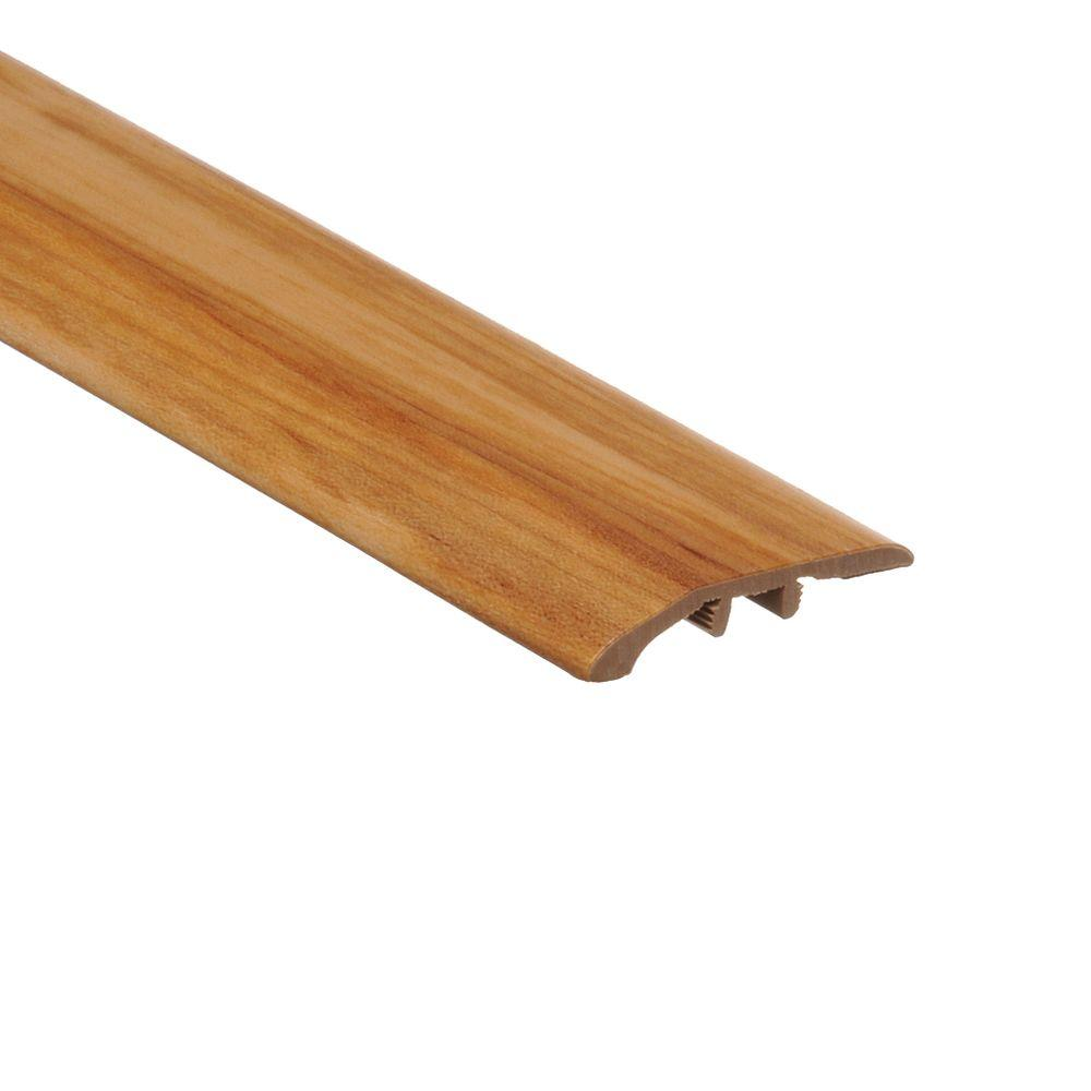 Zamma Rustic Maple Honeytone 5/16 in. Thick x 1-3/4 in. Wide x 72 in. Length Vinyl Multi-Purpose Reducer Molding