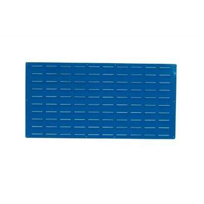 24 in. H x 48 in. W Louvered Slat Wall Panel