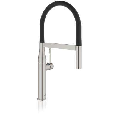 Essence New Single-Handle Pull-Down Sprayer Kitchen Faucet in SuperSteel Infinity