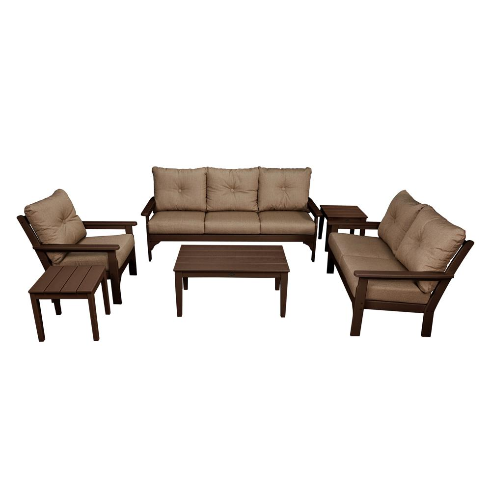 Polywood Plastic Deep Seating Set Cushions