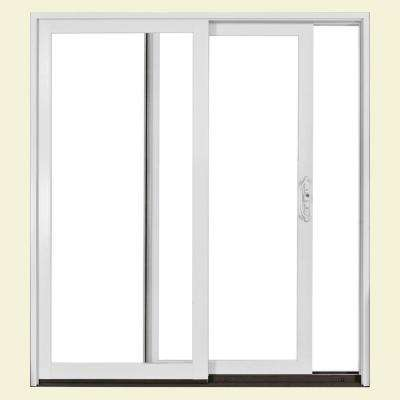 Builders Right Hand Aluminum Clad Sliding Patio Door With LowE Glass