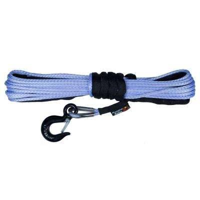 1/4 in. x 50 ft. Synthetic Winch Line