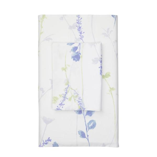 The Company Store Penfield Floral 400-Thread Count Sateen Full Fitted Sheet