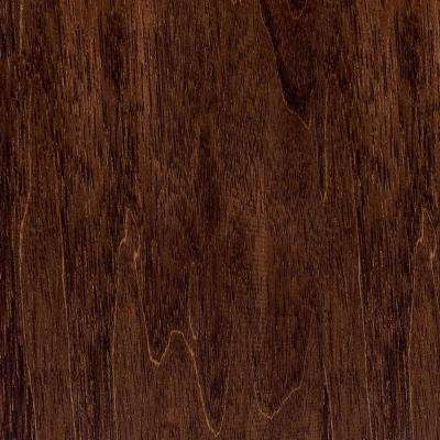 Take Home Sample - Hand Scraped Moroccan Walnut Solid Hardwood Flooring - 5 in. x 7 in.