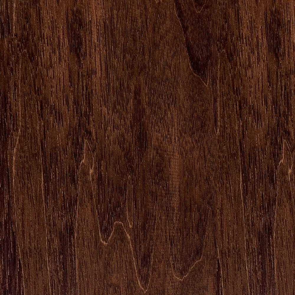 Home Legend Take Home Sample - Hand Scraped Moroccan Walnut Solid Hardwood Flooring - 5 in. x 7 in.