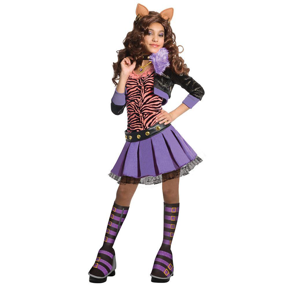 Rubieu0027s Costumes Monster High Deluxe Clawdeen Wolf Costume  sc 1 st  The Home Depot & Rubieu0027s Costumes Monster High Deluxe Clawdeen Wolf Costume-R884902_M ...