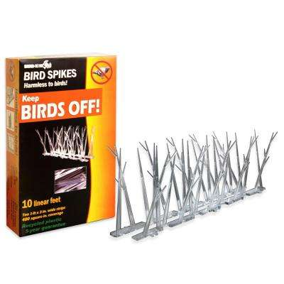 10 ft. Original Plastic Bird Spikes Bird Control Kit