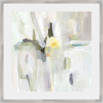 25 in. x 25 in. 'SUN DROPS II' by Victoria Borges Framed Wall Art