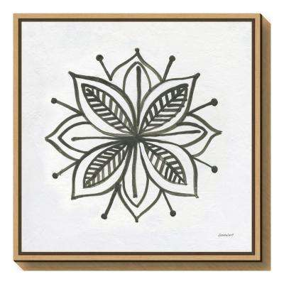 """Patterns of the Amazon Icon XIV"" by Kathrine Lovell Framed Canvas Wall Art"