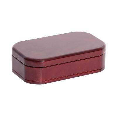 Morgan Cherry Finish Wooden Jewelry Box