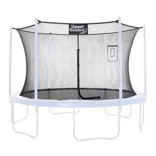 Trampoline Safety Enclosure Replacement Net with Smartphone/Tablet Selfie and Livestream Pouch
