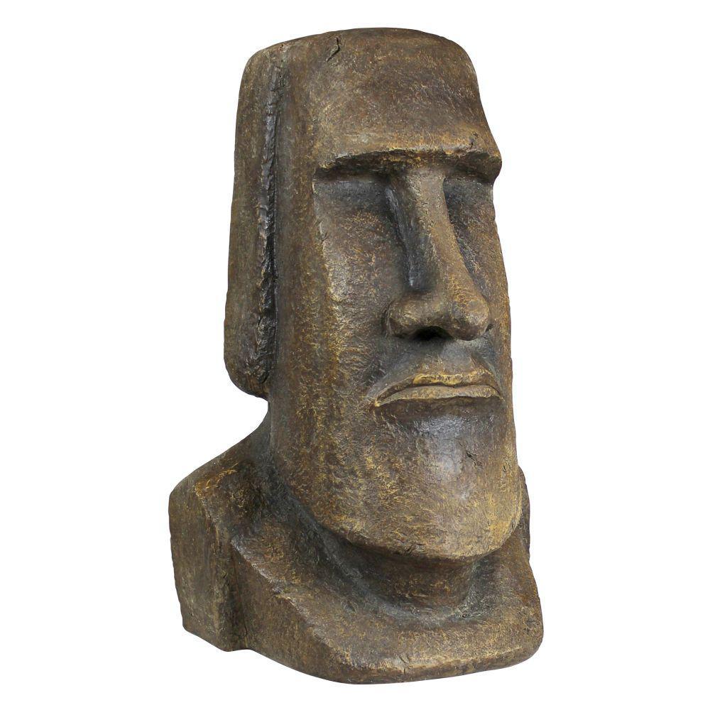 32 in. H Easter Island Ahu Akivi Moai Monolith Extra Large Statue
