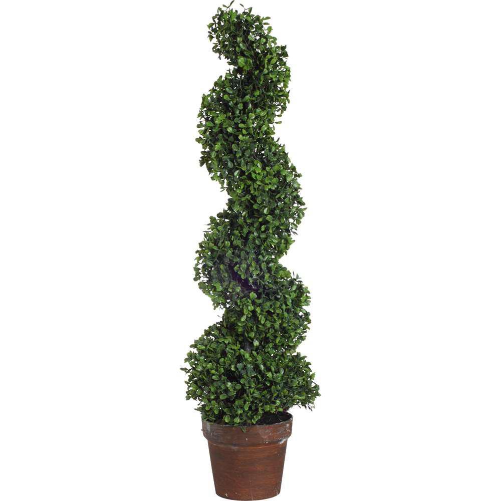 35 in. Decorative Boxwood Tree