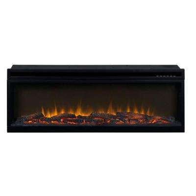 42 in. 1,500-Watt Electric Firebox Insert with Logs