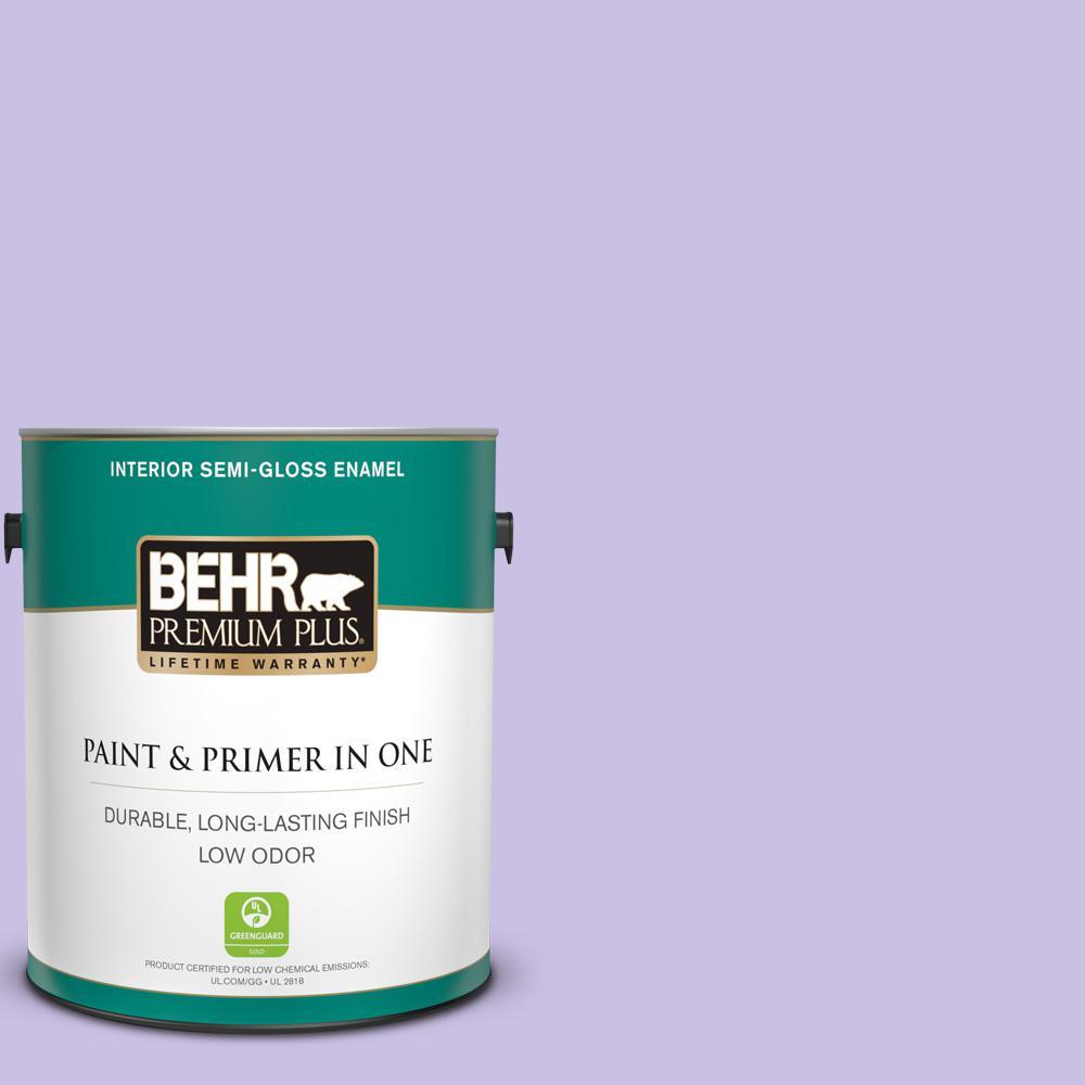 BEHR Premium Plus 1 gal N220 3 Smokestack Semi Gloss Enamel Low