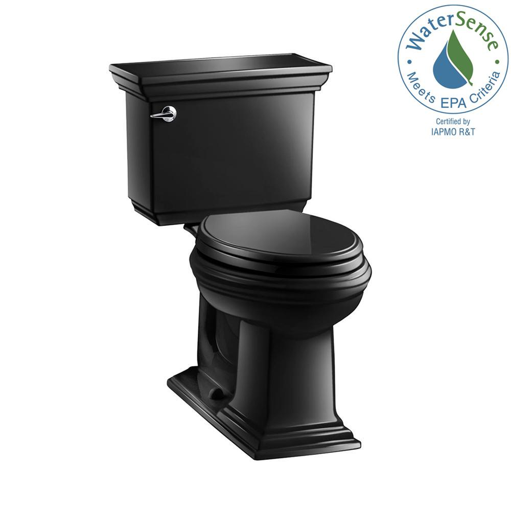 Memoirs Stately 2-piece 1.28 GPF Single Flush Elongated Toilet with AquaPiston