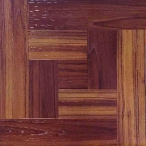 Trafficmaster Red Oak Parquet 12 In X 12 In Peel And