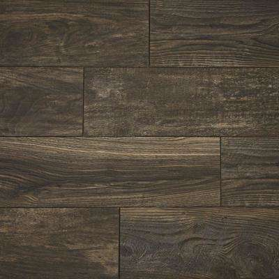 Mocha Wood Fusion 12 mm Thick x 6-3/16 in. Wide x 50-3/4 in. Length Laminate Flooring (697.6 sq. ft. / pallet)