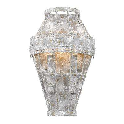 Ferris 1-Light Oyster Wall Sconce