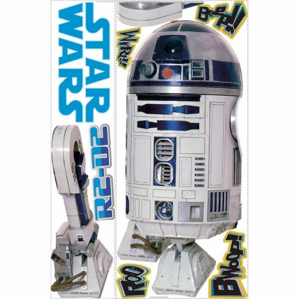 Star Wars R2D2 Kids Fun Action Oversize Wall Vinyl Sticker